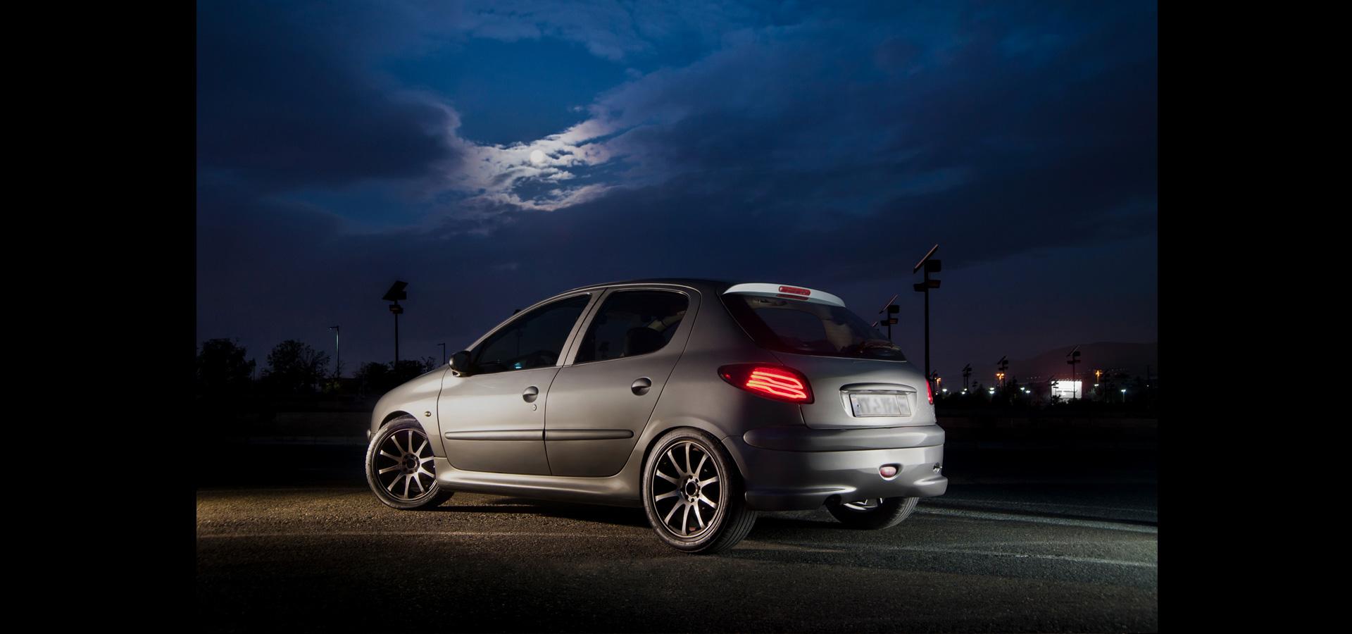 عکاسی صنعتی خودرو